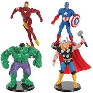 Amazon Com Marvel Avengers Miniature Alliance Cake