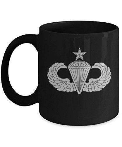 Airborne Coffee Mug - Senior Parachutist Badge ()