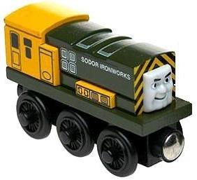 Iron Arry - Thomas & Friends Wooden Railway Tank Train Engine - Brand New Loose