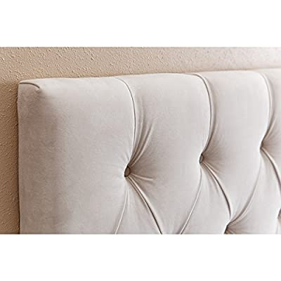 Abbyson® Connie Velvet Upholstered Headboard - Full/Queen
