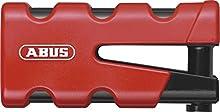 Abus 77 Sledg Grip - Candado para disco de freno, color rojo