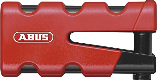Abus 77 Sledge Brake Disc Lock - Grip Red 4003318-47503-0
