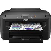 Epson WorkForce WF-7110 Inkjet Printer - Color - 4800 x 2400 dpi Print - Plain Paper Print - Desktop - 18 ppm Mono Print / 10 ppm Color Print (ISO) - 500 sheets Input - Automatic Duplex Print - LCD - Fast Ethernet - Wireless LAN - USB - C11CC99201