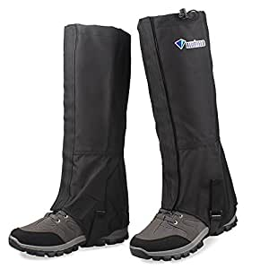 Amazon.com: MAGARROW Unisex Leg Gaiters Waterproof Outdoor