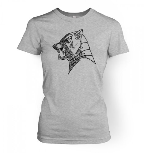The Hound\'s Helm Women\'s T-shirt X-Small Sport Grey -