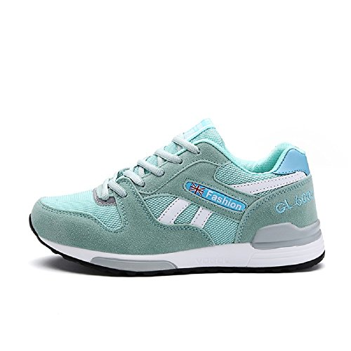 Femmes Sneakers Course Gym Vert athlétique House de Sports de Running Chaussures Chaussures Peggie 35 Baskets Fitness 40 v45w0a