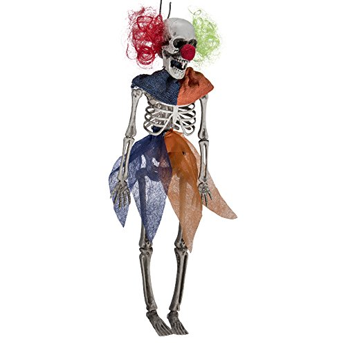 Carnival Toys 9038 Clown Skeleton of Hang