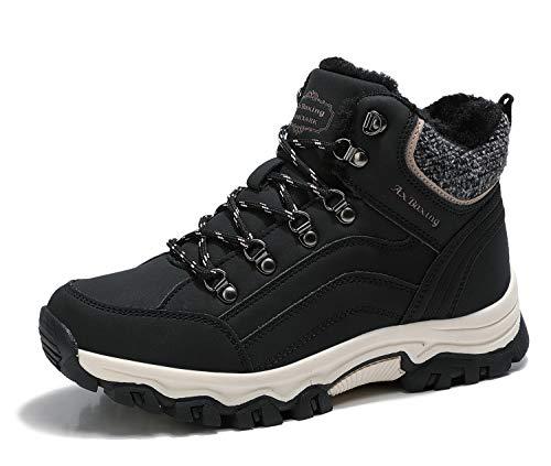 ARRIGO BELLO Botas Mujer Botines Zapatos Invierno Cálido Fur Forro Aire Libre Urbano Fiesta Oficina Caminando Senderismo…