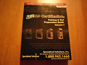 Paperback A+ Certification Training & Test Preparation Guide Volume 1 5th Edition Book
