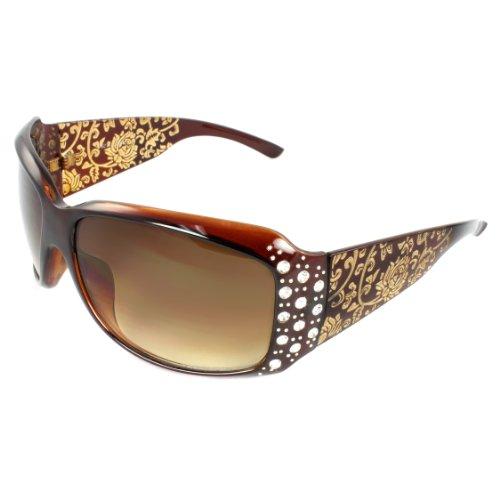 Western Sunglasses (MLC EYEWEAR ® TU9274 Full Frame Fashion Sunglasses,Brown)
