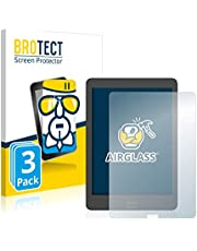 BROTECT Glas Screenprotector compatibel met Onyx Boox Nova 2 (3 Stuks) - Beschermglas met 9H hardheid