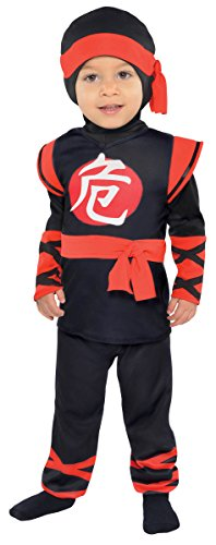 Amscan Babys Infant Baby Ninja Halloween Costume 12-24 Months (Toddler Ninja Costume)