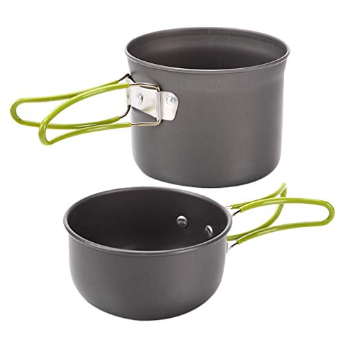 YIGEYI Portable Picnic Camping Hiking Backpacking Home Cooking Pot Bowl Cookware Set The Perfect one for You
