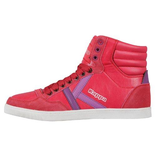 Kappa KOREA II MID 241692 Unisex-Erwachsene Sneaker Pink (PINK/LILA 2223)