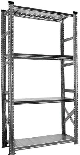 Steckregal Super1 Grundregal S1 1972x1120x400 mm 4 B/öden Traglast 235 kg pro Boden B/ücherregal Lagerregal Regal Metallregal