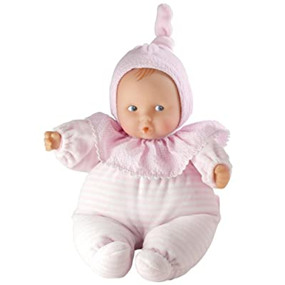Corolle Babicorolle Babipouce Pink Striped Doll by Corolle