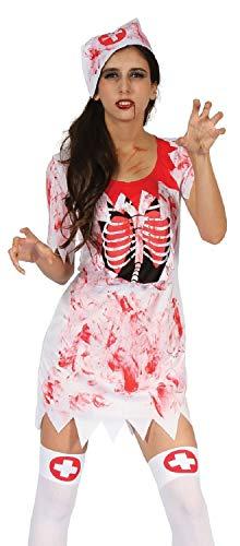Ladies Sexy Dead Zombie Bloody Nurse Halloween Fancy