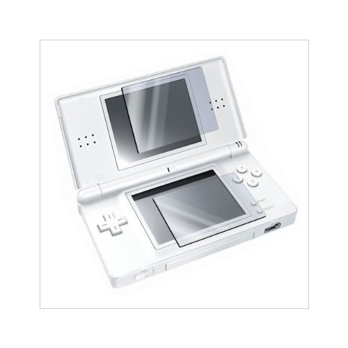 Nintendo DS Lite LCD Screen Protector / Screen Guard, with Application Card and Microfiber Cleaning Cloth