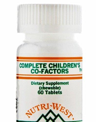 Nutri-West Complete Children's Co-Factors - 60 Chewable T...
