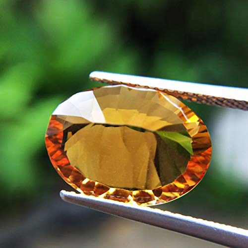 Lovemom 5.65ct Natural Oval Unheated Yellow Citrine Brazil #W by Lovemom (Image #4)