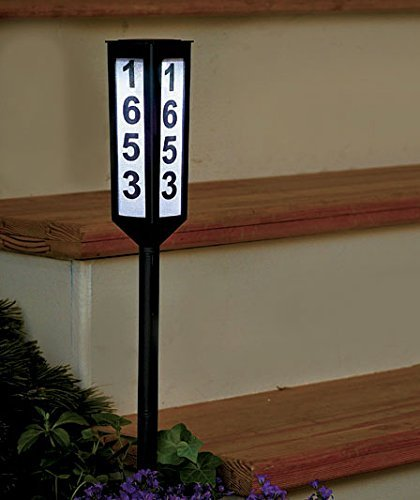 Keep Your House Number Visible Day and Night with 24