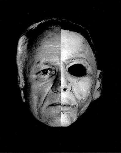 George P. Wilbur as Michael Myers Face Split 8 x 10 Inch -