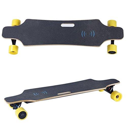 Longboard-Cruiser-Skateboard-Augmente-Double-Moteur-lectrique-avec-tlcommande-de-Sport-Professionnel-Skateboard