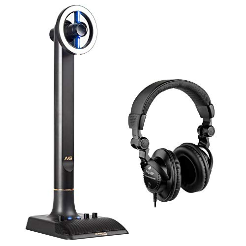 (Marantz Professional AVS Audio-Video Streamer Broadcasting System with Polsen HPC-A30 Studio Monitor Headphone Bundle)