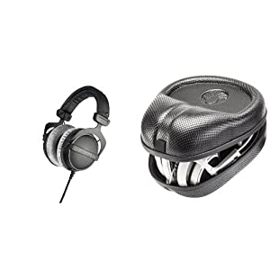 Beyerdynamic DT 770 PRO, 250 ohms Bundle with Headphone Case