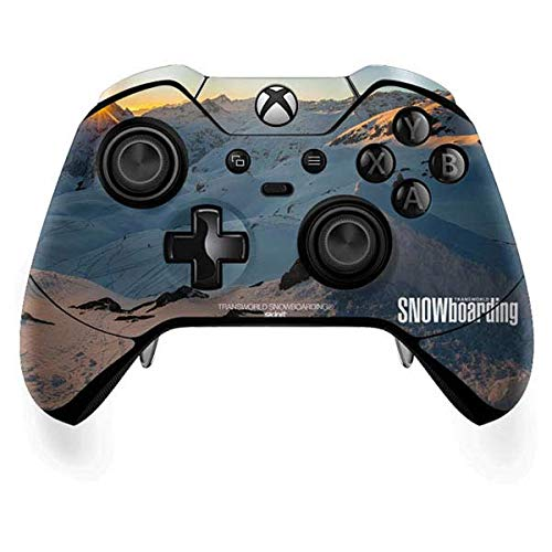 Skinit Snow Xbox One Elite Controller Skin - The Enthusiast Network Skin - Ultra Thin, Lightweight Vinyl Decal Protection ()