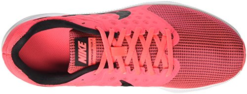 Nike Wmns Downshifter 7, Zapatillas de Running Para Mujer Rosa (Hot Punch/black/white)