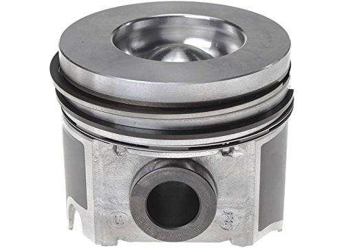 MAHLE Original 224-3503WR Ford 6.0L Power Stroke Standard Piston with Rings