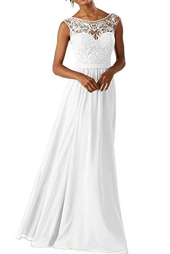 Braut Jugendweihe Marie Abendkleider La Kleider Gelb Festlichkleider Weiß Lang Brautmutter Spitze Damen Kleider AwfnRqSn