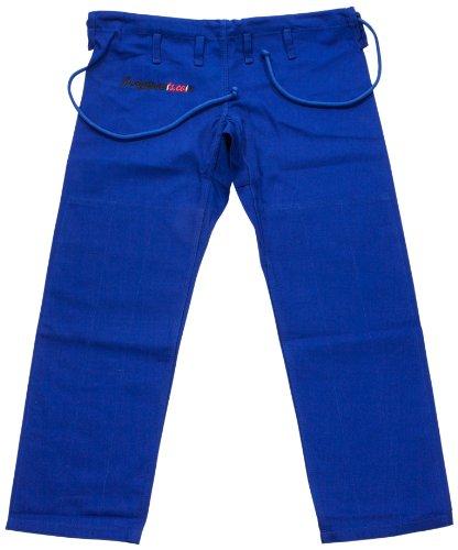 Justgipants.com Men's The Classic Gi Pant, Blue, (Jiu Jitsu Gi Pants)