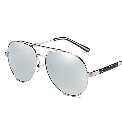 para Protección C2 Hombre UV Gafas Mujer Sol De 400 para Aviator Polarizadas C1 0x078YF4A