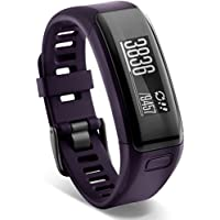 Garmin Vivosmart HR Touchscreen Activity Tracker w/ Built-In Heart Rate Monitor (Purple / Blue)