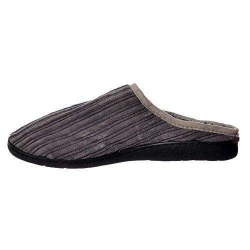 hombres para marrón sin Zapatillas con de de oscuro oscuro piel suela oscuro resistente dura Marrón marrón y forradas cordones Onlineshoe CYXqXwp