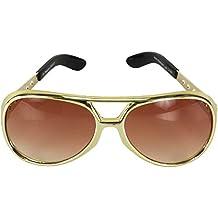 elope Elvis Basic Gold Adult Costume Sunglasses