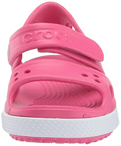 Crocs Kid's Boys and Girls Crocband II Sandal | Pre School, Paradise Pink/Carnation 6 M US Toddler by Crocs (Image #4)