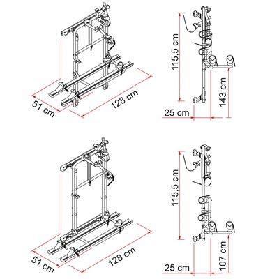 Dromedary Pair of 15.79Boot Gas Struts Tailgate Boot Gas Struts E1971 8N8827552