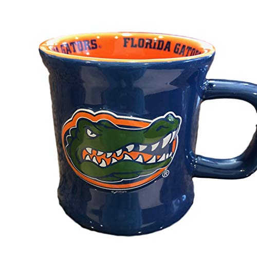 Jenkins Enterprises Florida Gators Ceramic Relief Mug