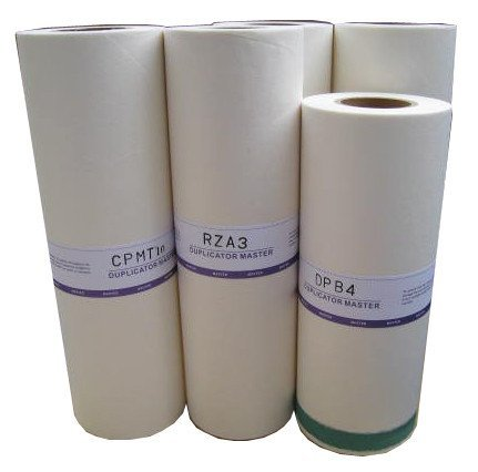 Risograph S-4250 Masters 2 Rolls per Carton OEM Toner for Risograph - Black - Oem Master