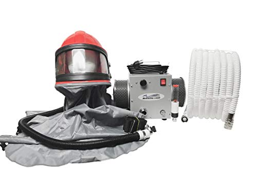Breathecool II Supplied Air Respirator System w/sandblast helmet/cape