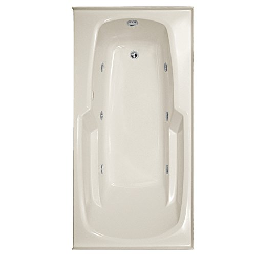 Hydro Systems ENT6032GCO-BIS-RH-WOV.BIS Entre Gel Coat Tub with Combo System (Right Hand Drain Included), Biscuit - Combo Right Hand Gel