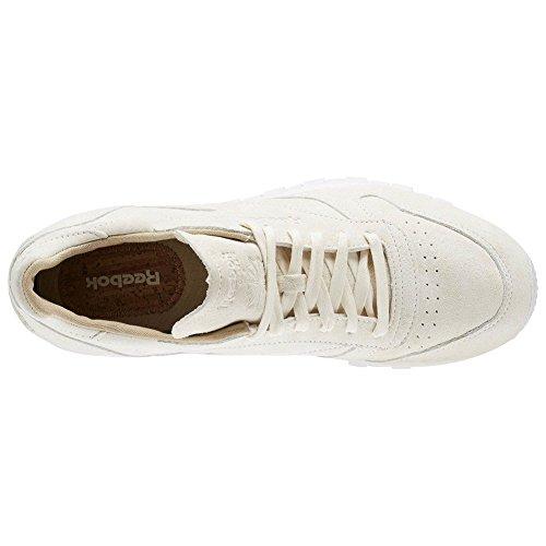 Scarpe Reebok – Cl Leather Lst crema/bianco/marrone formato: 42.5 Tienda De Venta Toma El Precio Barato kJqjDC