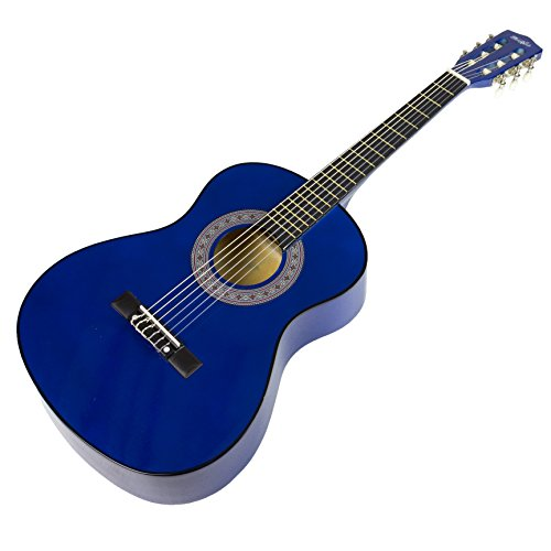 Music Alley MA-34-BL Acoustic Guitar Pack, Blue by Music Alley