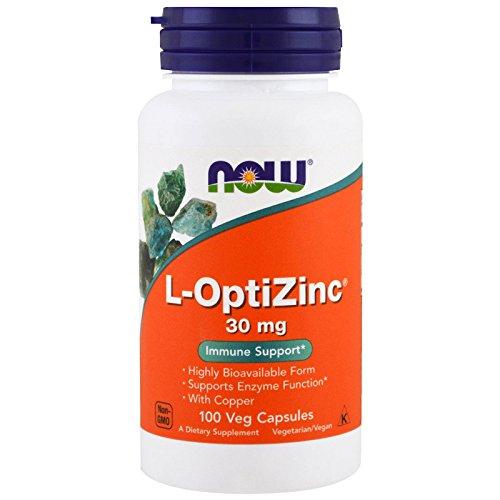 Now Foods L Optizinc Immune Support