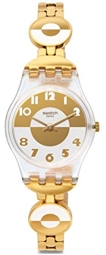 Swatch Masterglam Ladies Stainless Steel Band Watch Lk369G