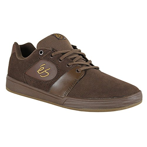 Es Skateboard Shoes ACCELERATE BROWN/GUM Limited Edition - Size 8