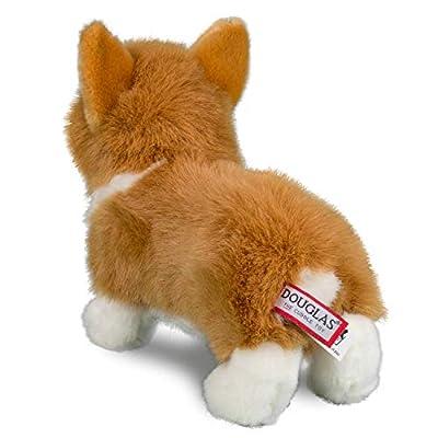 Douglas Louie Corgi Dog Plush Stuffed Animal: Toys & Games